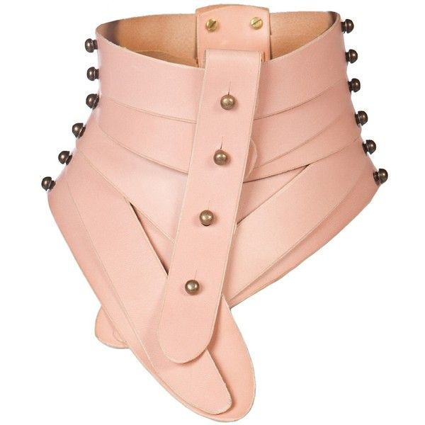 ?NA BURKE Posture collar (930 RON) found on Polyvore featuring accessories, necklaces, collar and women