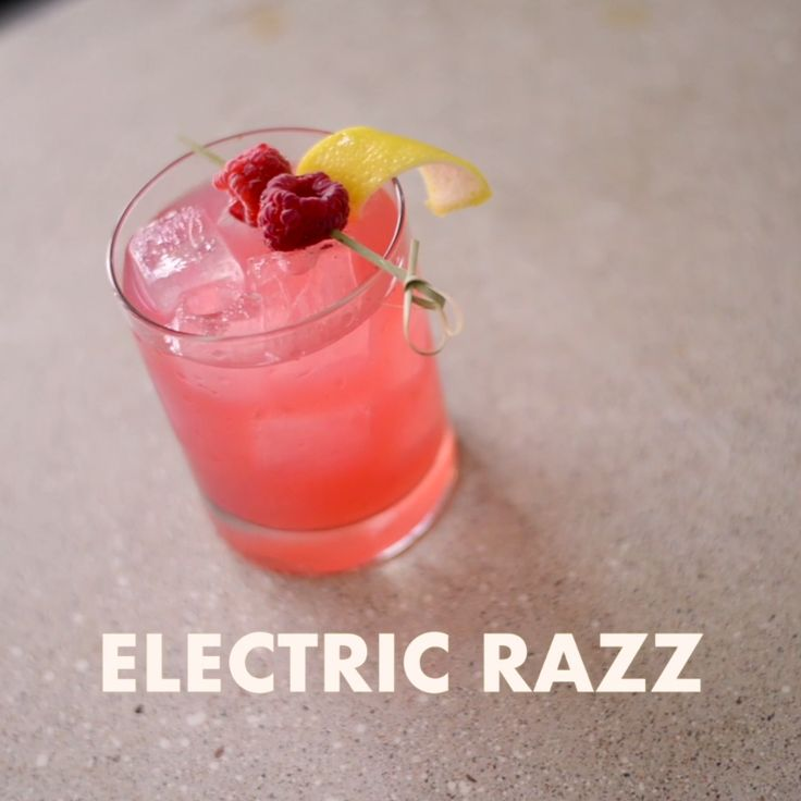 If there's one sure-fire way to amp up your get-together, it's the Electric Razz cocktail! In a cocktail shaker, combine BACARDI® Mixers Margarita, BACARDI® Superior and Wolfberry Rums, cranberry juice, lemon juice, and raspberries for an ultra vibrant, great-tasting cocktail!