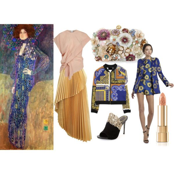 Klimt by sarahohbaby on Polyvore featuring Marni, Alice + Olivia, Zimmermann, René Caovilla and Accessorize
