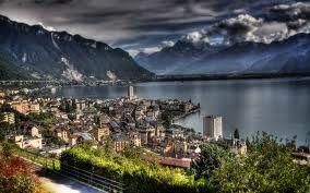 Montreux et le lac Léman