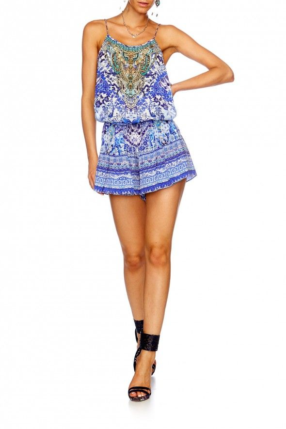 Camilla - Guardian Of Secrets Showstring Playsuit