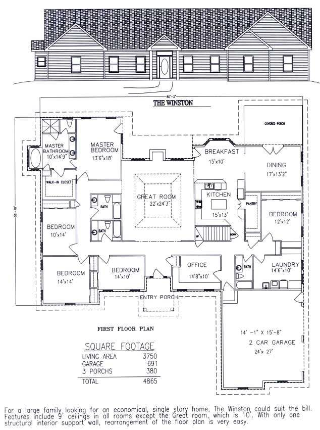 20+ Best Ideas About 6 Bedroom House Plans On Pinterest