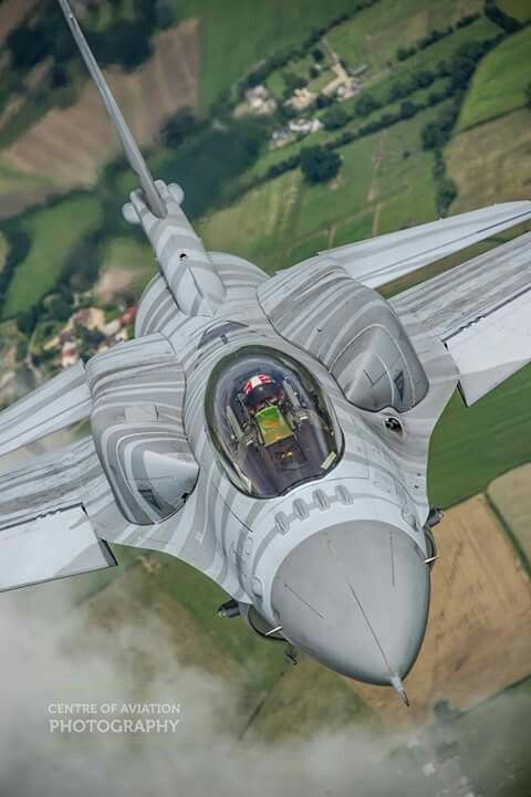Polish Air Force Lockheed-Martin F-16C Block 52+ Fighting Falcon