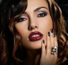 Piękny wieczorowy makijaż!