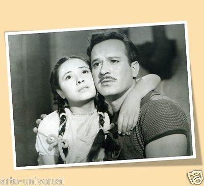 """PEDRO INFANTE CHACHITA PRINT POSTER SIZE """"NOSOTROS LOS POBRES"""" MOVIES MEXICO"""