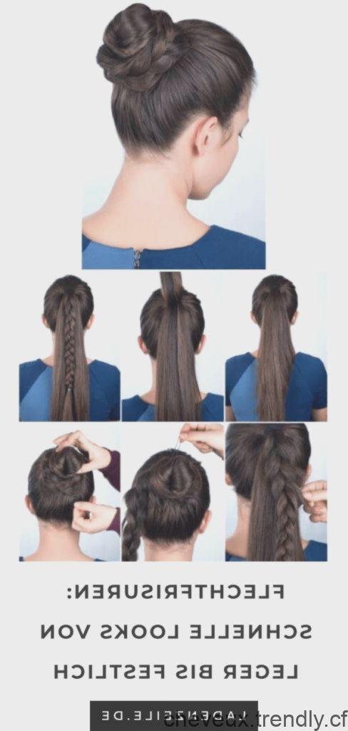 Dans le monde de la mode vous trouverez des coiffures rapides avec des instructions pour les
