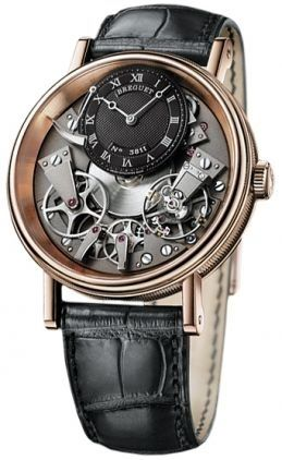 Breguet Tradition Automatic Skeleton Dial Men's Watch