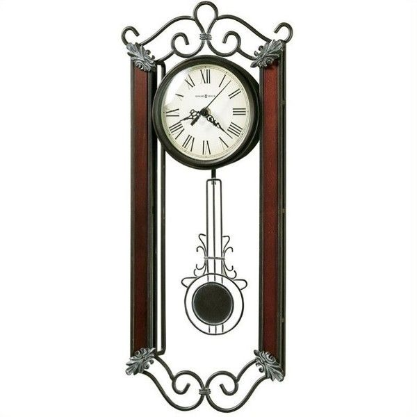 howard miller carmen quartz wall clock 76 liked on polyvore featuring home