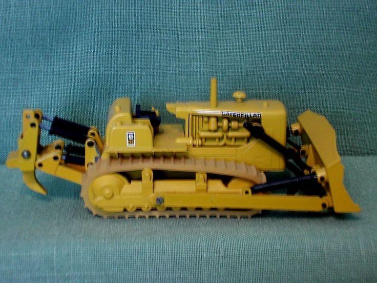 CAT Caterpillar - D9G - Planierraupe Dozer Raupe Gescha 1:50 Oldi  Baumaschine
