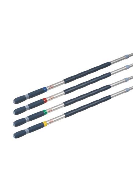 Manche Télescopique avec anneaux de couleurs pour système Ultra Speed