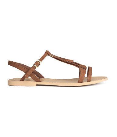Fringe Sandal. H&M $24.95