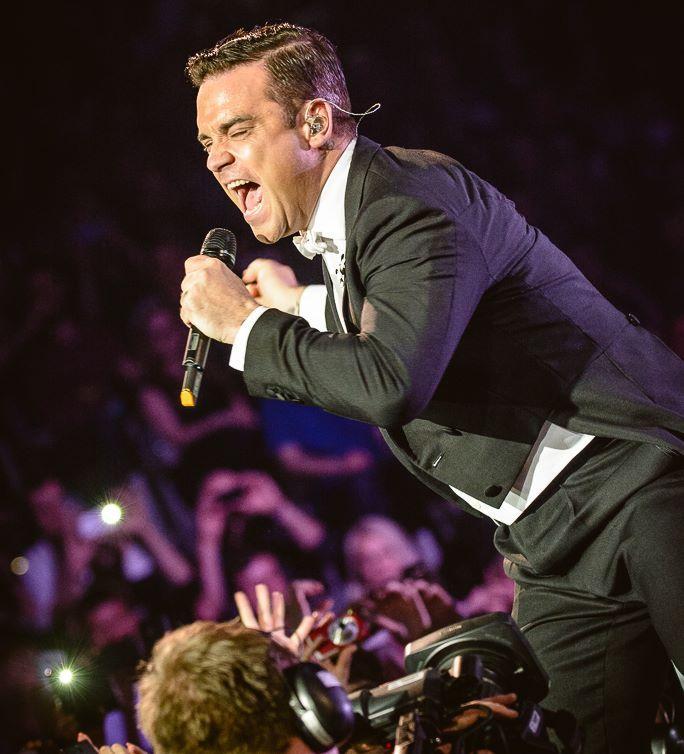 Robbie Williams - swings both ways tour