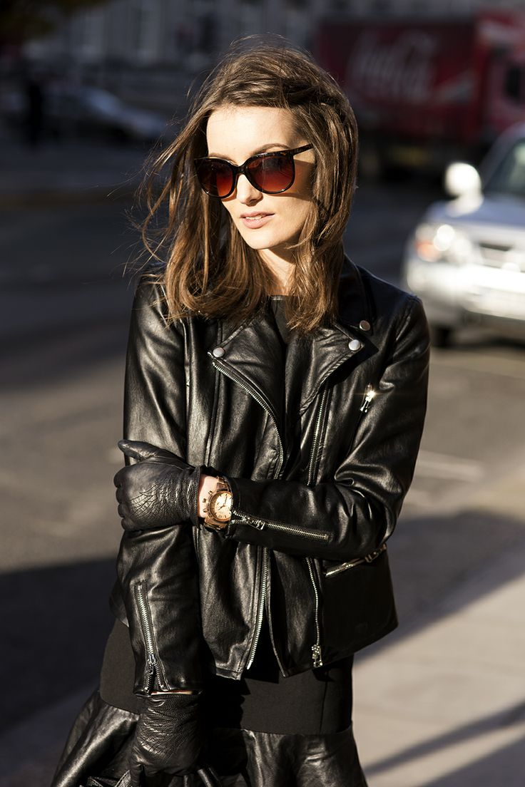 ☆ Rock 'n' Roll Style ☆ Black leather.