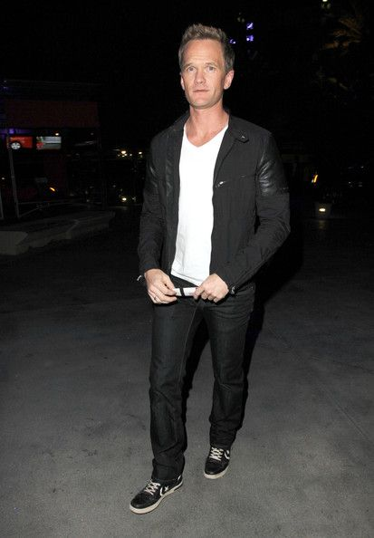 Neil Patrick Harris - Celebrities Head To Madonna Concert  in Los Angeles, California on October 10, 2012.