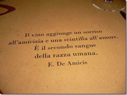 Wine, friendship and love...