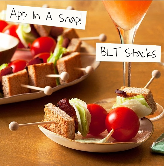 For an Instant Cocktail Party make this App in a Snap! #BLT