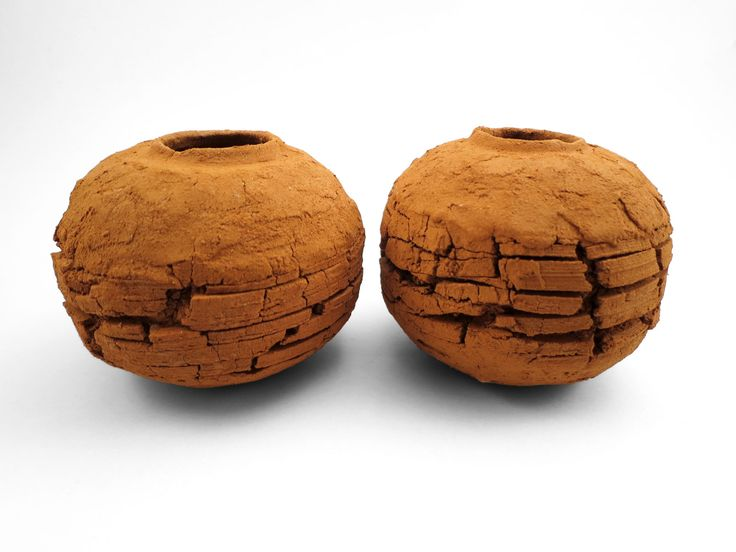 Scorched Earth: Whispering Globes from the Wild Clay Series - Ildikó Károlyi #ceramics #raku #design