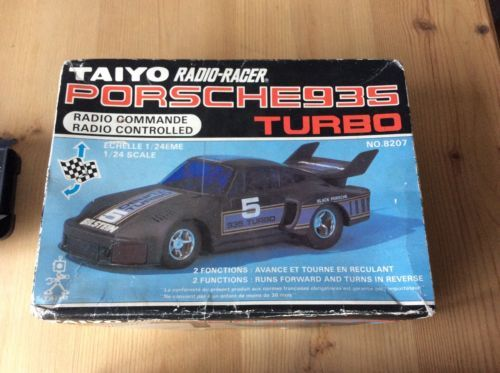 Vintage boxed taiyo porsche 935 turbo #radio #controlled car #radio #racer,  View more on the LINK: http://www.zeppy.io/product/gb/2/152425477805/