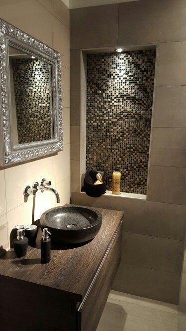 Mozaïek in badkamer