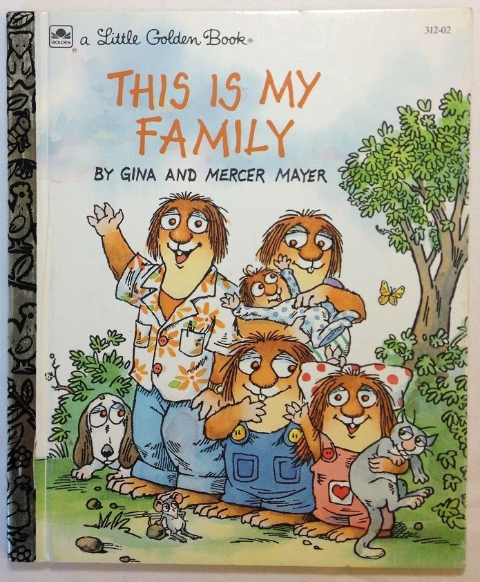 THIS IS MY FAMILY Little Golden Book