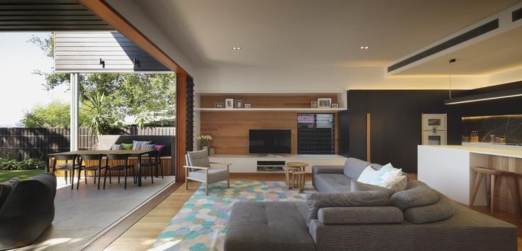 Wilden Street House, Paddington Australia by Shaun Lockyer Architects