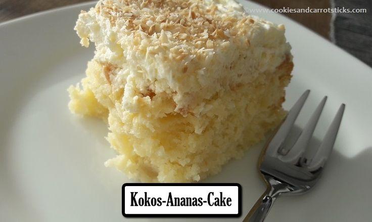 Kokos-Ananas-Cake