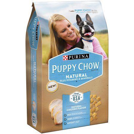Purina Puppy Chow Natural Plus Vitamins & Minerals Dog Food 3.8 lb. Bag