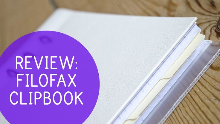 First impression & review | The Clipbook by Filofax