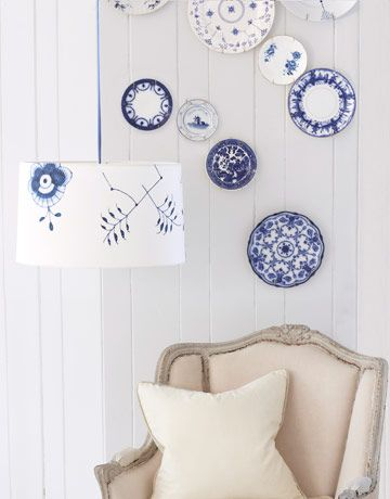 DIY China Pattern Crafts - Easy Craft Projects - Country Living