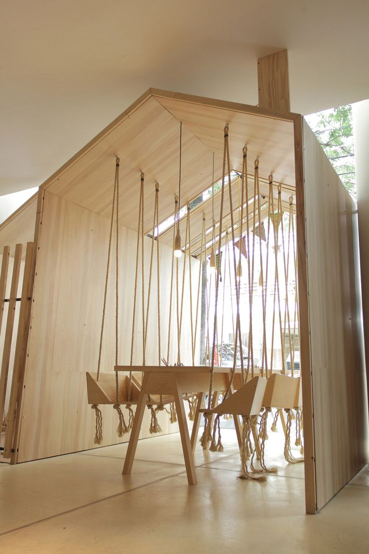 Modern cafe chairs and tables - This Cafe Was Designed To Be Fun And Playful For Adults And Children