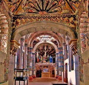 Santuario de Atotonilco, near San Miguel de Allende