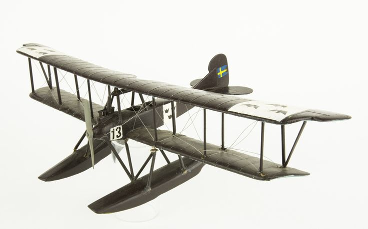 Model aeroplane Thulin G | Flygvapenmuseum | CC BY