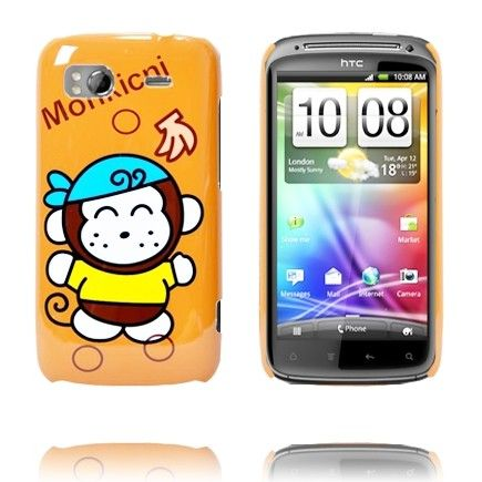 Glad Tegnefilm (Pirat Monkey) HTC Sensation Cover