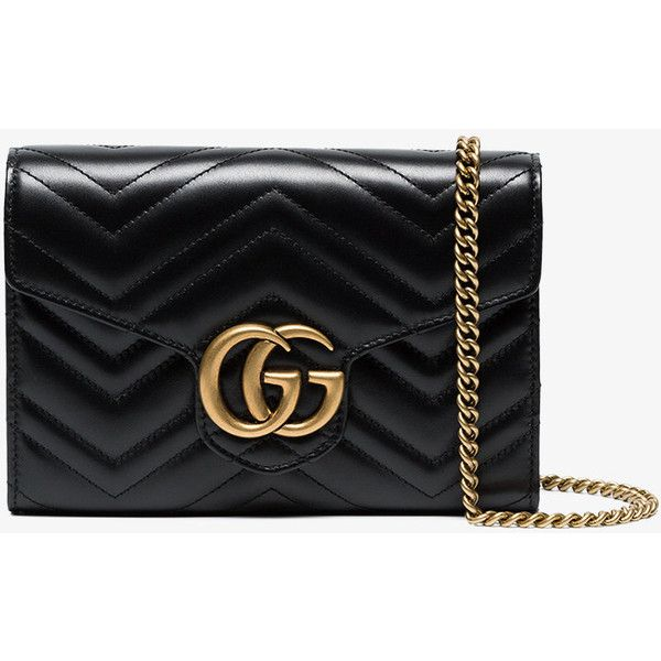 abf662d172d Gucci Black Gg Marmont Mini Bag (93