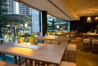 At Vapiano - Surfers Paradise, creates everything from old-fashioned Italian recipes using only the best local meat, produce, cheese and flour. And when we say local, we mean local. Great for families as well.