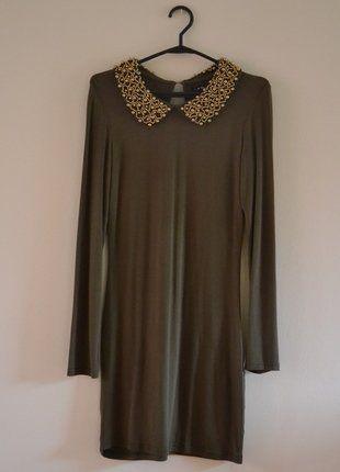 Kup mój przedmiot na #vintedpl http://www.vinted.pl/damska-odziez/krotkie-sukienki/17490047-sukienka-khaki-new-yorker-s