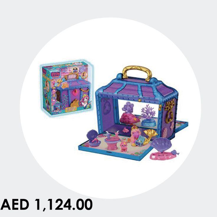 Filly Mermaids Treasure Box #toys #games #kids #playground #online #shopping #menakart #starpalace #gamesforkids #mermaidsbox