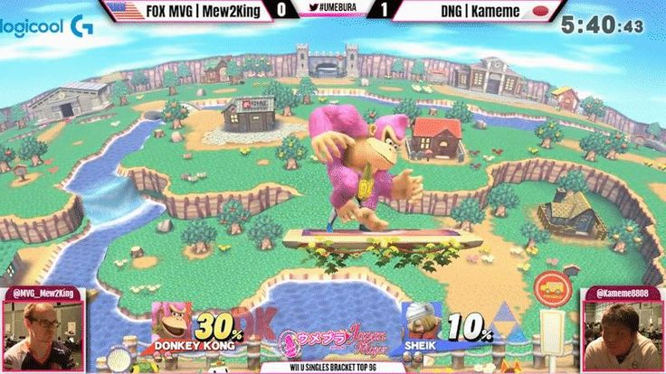 """At this past weekend's Umebura Japan Major, Jason """"Mew2King"""" Zimmerman clinically executed a """"ding-dong,"""" a combo that has elevated DK into the competitive meta-game."""
