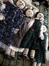 Screen printed dolls