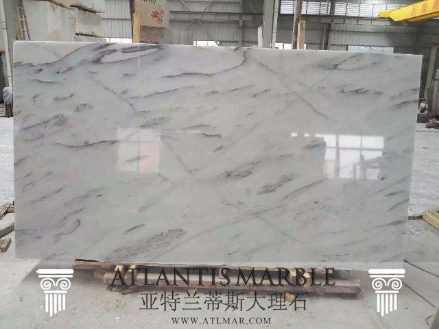 Turkish Marble Block & Slab Export / RAINY WHITE Marble   http://www.atlmar.com/product/283-turkish-marble-rainy-white-slab.png.html