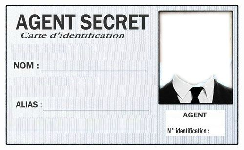 CARTE-AGENT-SECRET Plus