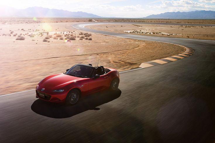 [画像]マツダ、新型「ロードスター」の価格を発表、249万4800円~314万2800円 / ベースのSグレードは990kgの重量を実現。先行商談の予約を3月30日まで受け付け - Car Watch