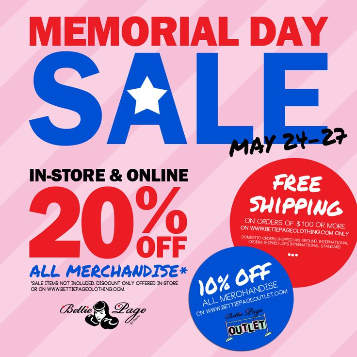 memorial day sales in 2015