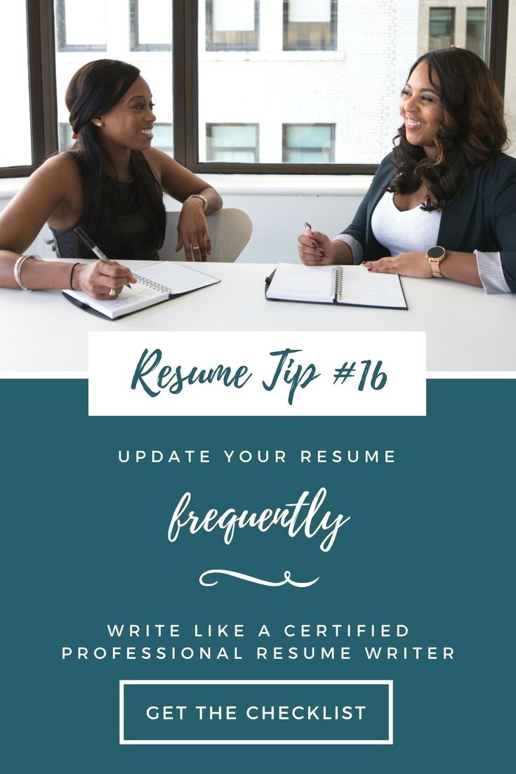 15 This Checklist Will Walk You Through The Resume Writing