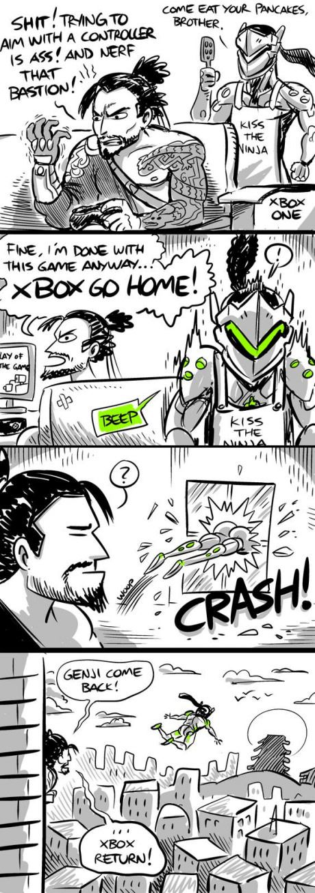 Apparently Genji = xbox