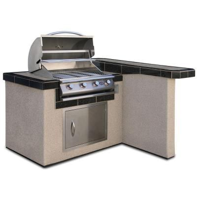 12 Best Pre Fab  Bbq Island Images On Pinterest  Outdoor Cooking Entrancing Outdoor Kitchen Home Depot 2018
