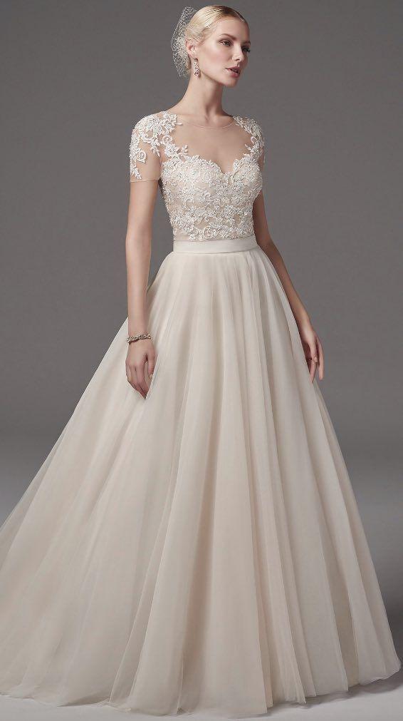 Courtesy of Sottero and Midgley Wedding Dresses from Maggie Sottero; Wedding dress idea.