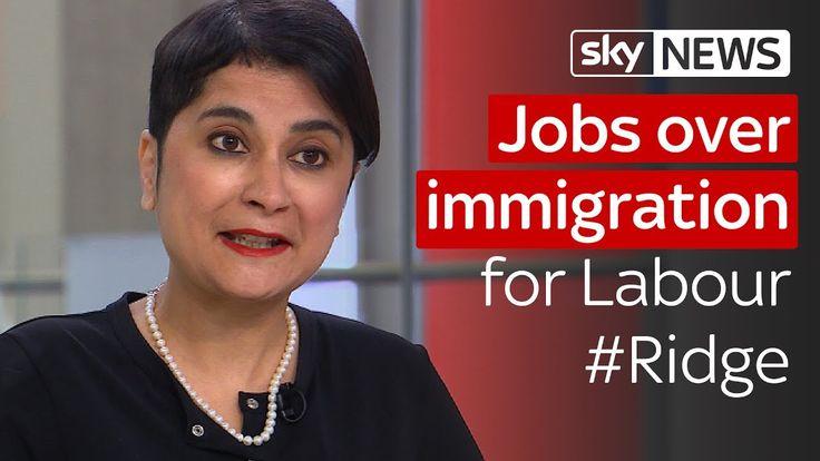 Shami Chakrabarti clarifies Labour's Brexit priorities #Ridge