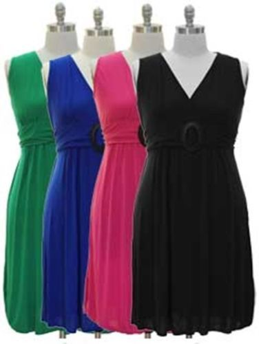 plus size v neck maxi clothes