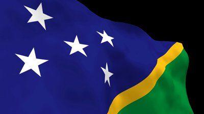 National Flag. SLB Solomon Islands. - HD stock video clip - http://loliace.com/national-flag-slb-solomon-islands-hd-stock-video-clip/